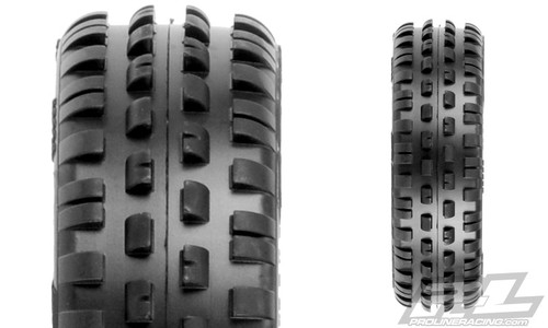 "Proline 8230-103 Wedge Squared 2.2"" 2WD Z3 (Medium Carpet) Off-Road Buggy Front Tires"
