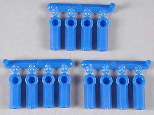 RPM Heavy Duty Rod Ends/Ball Cups 4-40 (Blue)