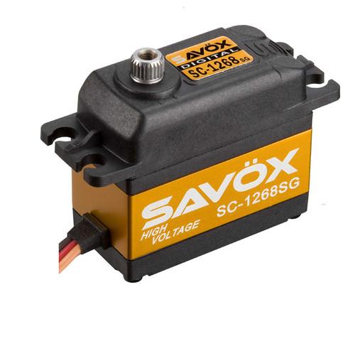 """Savox SC-1268SG """"High Torque"""" Digital Steel Gear Servo"""