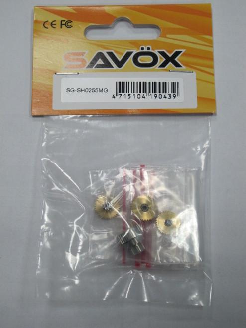Savox SG-SH0255MG Rebuild Gear Set w/Bearing
