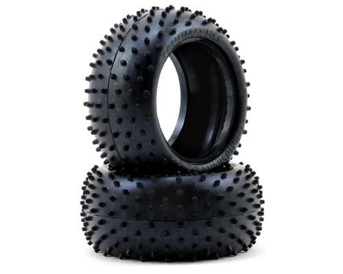 "Schumacher Racing ""Mini Spike 2"" 2.2 1/10 Buggy Rear Tires (2) (Blue)"