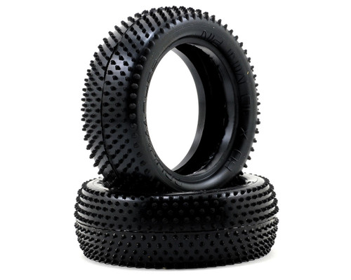 """Schumacher Racing """"Mini Pin"""" 2.2 1/10 4WD Buggy Front Tires (2) (Yellow)"""