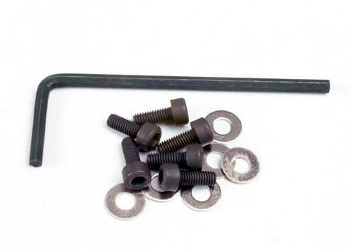 TRAXXAS 3x8mm Hex Cap Screws (6)