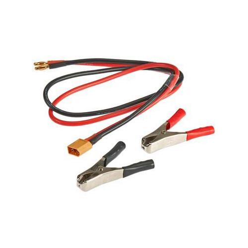 Hitec 44243 XT60 DC Input Cable/Clips