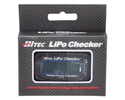 Hitec 44173 LiPo Battery Voltage Checker & Equalizer