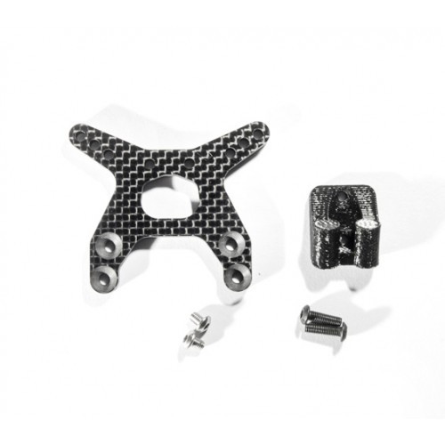 Schelle Racing SCH1263 B6 Front Tower and Wing Mount, Flat