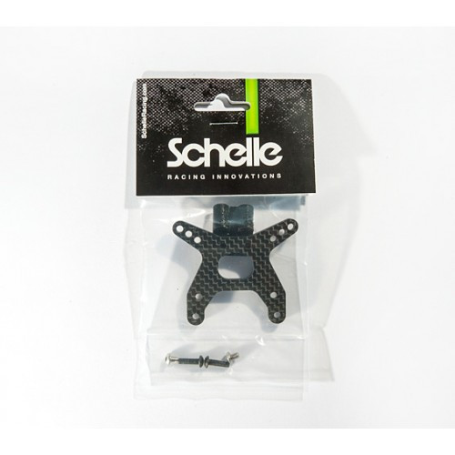 Schelle Racing SCH1264 B6 Front Tower and Wing Mount, Gull