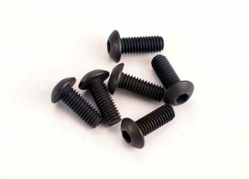 Traxxas 3x8mm Button Head Hex Screw (6)