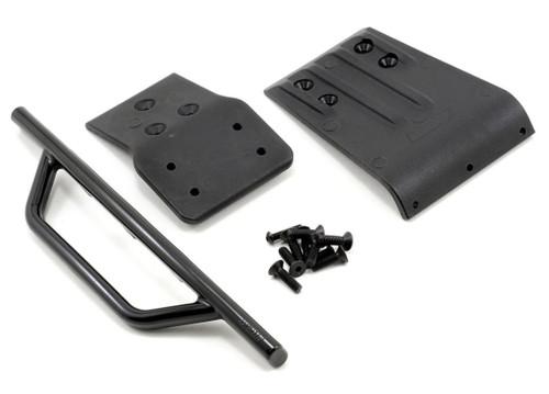 RPM 80022 Traxxas Slash 4x4 Front Bumper & Skid Plate (Black)