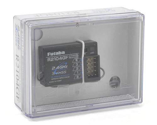Futaba R2104GF High Voltage 2.4Ghz S-FHSS 4-Channel Receiver (4PL) FUTL7616