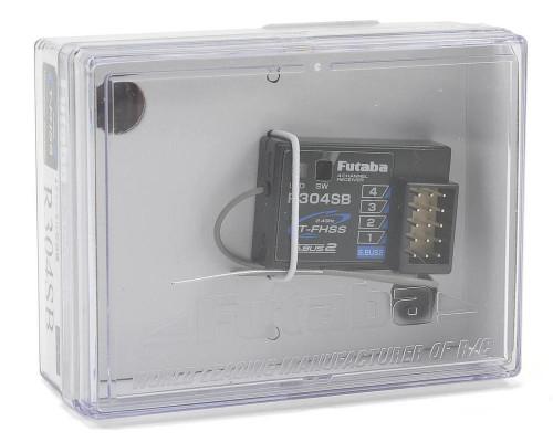 Futaba 7680 R304SB 2.4GHz T-FHSS 4-Channel Telemetry Enabled Receiver (4PLS)