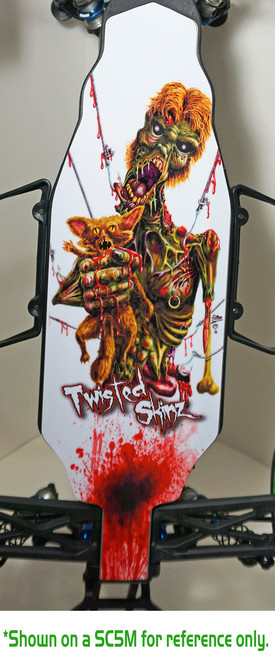 "Twisted Skinz (D413) ""Hooked"" 9 mil Chassis Protector"