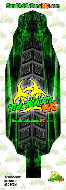 "Small Addictions RC (Team Associated SC5M) ""Ground Zero"" Chassis Protector"
