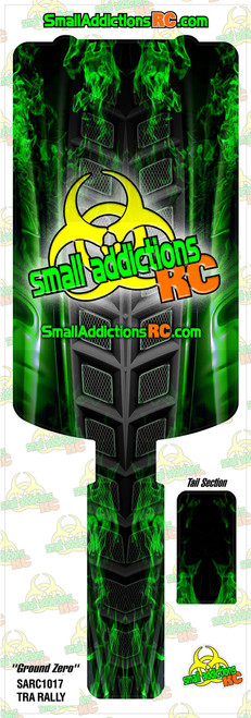 """Small Addictions RC (Traxxas Rally) """"Ground Zero"""" Chassis Protector"""