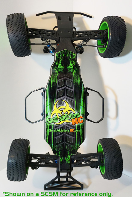 """Small Addictions RC (TLR 22SCT 3.0) """"Ground Zero"""" Chassis Protector"""