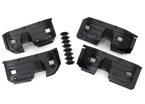 Traxxas TRX-4 Land Rover Defender Front & Rear Inner Fenders & Rock Light Covers