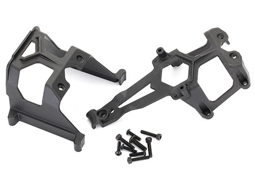 Traxxas Chassis Supports, Front & Rear/ 3x12mm BCS (4)/ 3x15mm CS (4)/ 4x14mm BCS (1)
