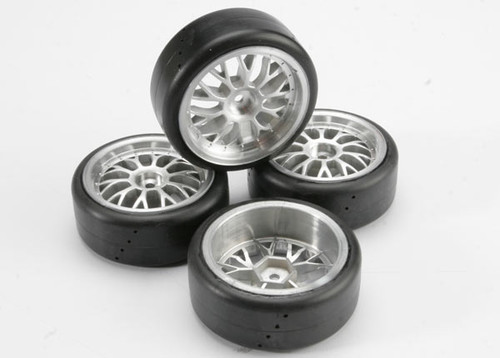 Traxxas Tires, Glued (Nitro 4-Tec) (4)