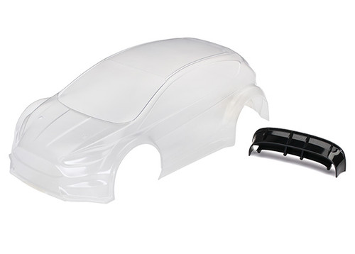 Traxxas Ford Fiesta ST Rally Body (Clear)