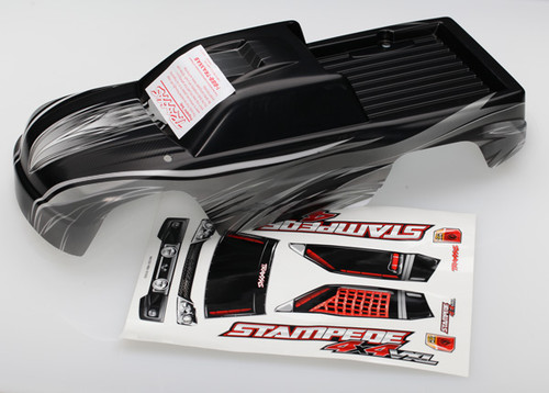 Traxxas ProGraphix Stampede 4x4 Body w/Decal Sheet