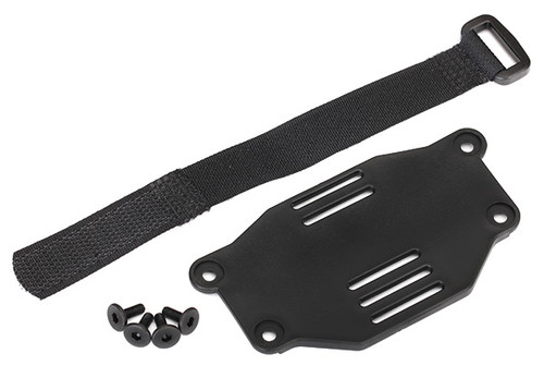 Traxxas Front Mount Battery Tray TRX-4 (Requires #8072 inner fenders)