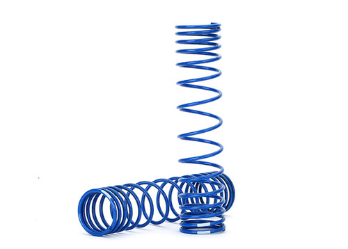 Traxxas Unlimited Desert Racer GTR Rear Shock Spring (2) (Blue)