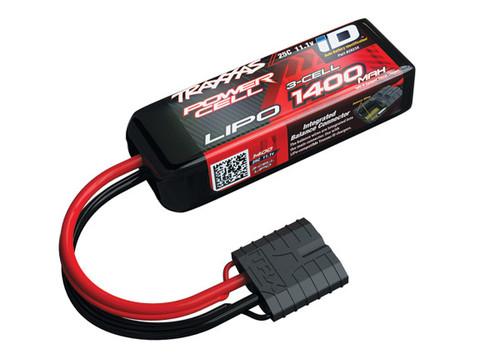 "Traxxas 3S ""Power Cell"" 25C LiPo Battery w/iD Traxxas Connector 11.1V/1400"