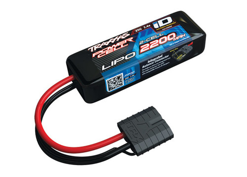 "Traxxas 2S ""Power Cell"" 25C LiPo Battery w/iD Traxxas Connector 7.4V/2200"