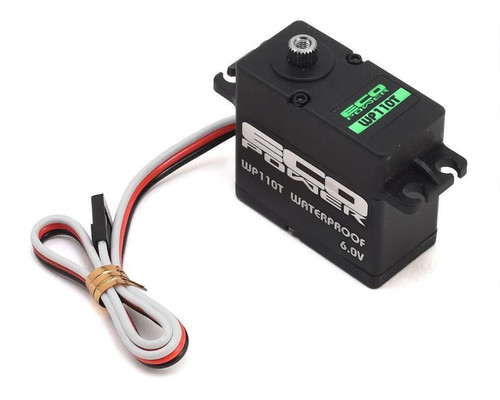 EcoPower WP110T Cored Waterproof High Torque Metal Gear Servo