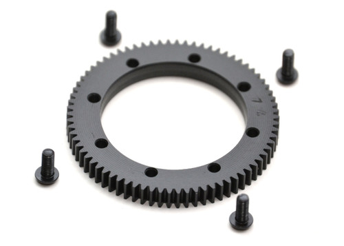 Exotek Racing XB4 74t 48p Spur Gear, for XB4 Center Diff
