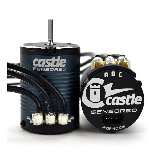 "Castle Creations ""Slate"" 1406 Sensored 4-Pole Brushless Motor (2280kV)"