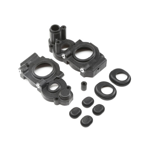 Team Losi Racing 22 4.0 3-Gear Laydown Gear Case Set