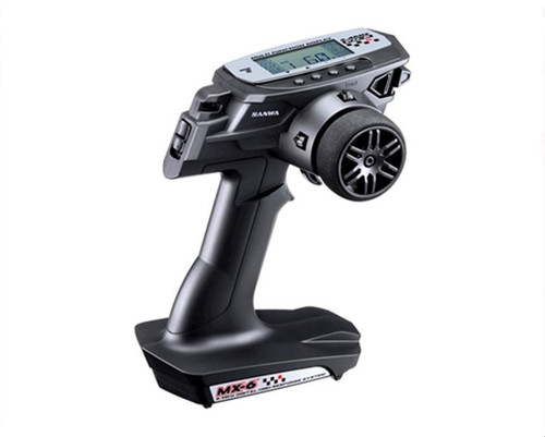 Sanwa/Airtronics MX-6 FH-E 3-Channel 2.4GHz Radio System w/RX-391W 3-Channel Receiver