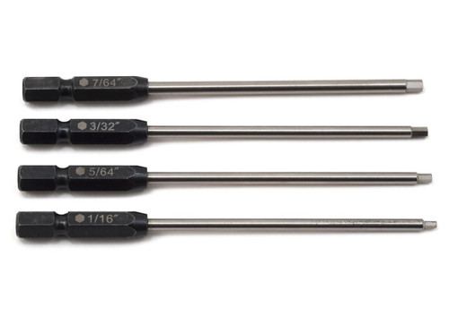 "ProTek RC 8244 TruTorque Standard Power Tool Tip Set (4) (1/16"", 5/64"", 3/32"", 7/64"")"