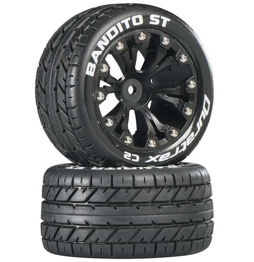 Duratrax Bandito ST 2.8 2WD Mounted Rear C2 Black (2)