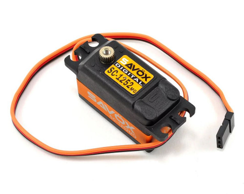 "Savox SC1252MG Low Profile ""Super Speed"" Metal Gear Digital Servo"