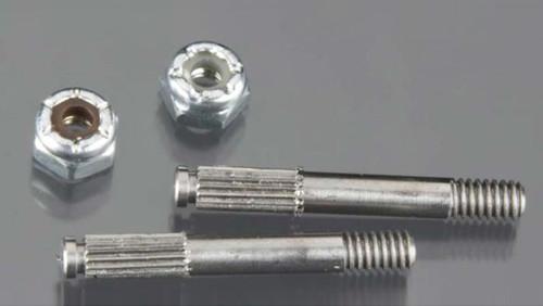 RJ Speed 5364 Threaded Stub Axles w/Nuts (2)