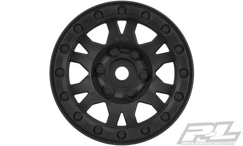 "Pro-Line 2769-03 Impulse 1.9"" Bead-Loc Wheels (Black) (2)"