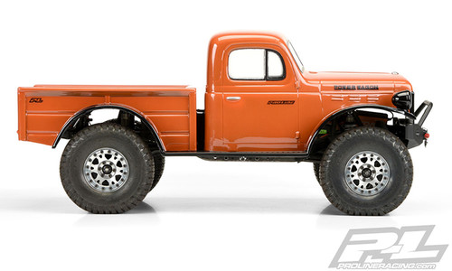 "Pro-Line 3499-00 1946 Dodge Power Wagon 12.3"" Crawler Body (Clear)"
