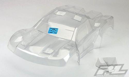 Pro-Line 3458-17 Flo-Tek Pre-Cut Fusion Short Course Body (Clear), Slash, Slash 4x4, SC5M, 22SCT