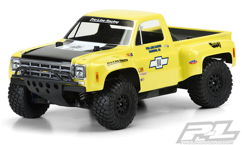Pro-Line 351000 1978 Chevy C-10 Race Truck Short Course Truck Body (Clear)