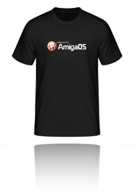 T-Shirt powered by AmigaOS