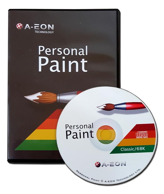 Personal Paint 7.3b 68k Amiga (Amiga CD)