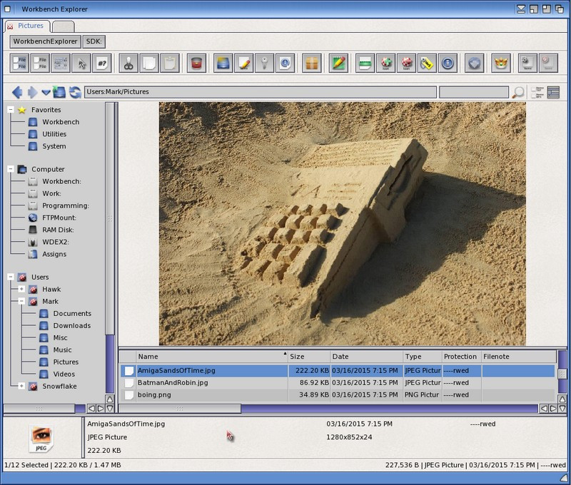 Workbench Explorer 2.1      * Worldwide free download*