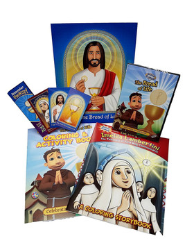 Brother Francis - First Holy Communion Gift Set