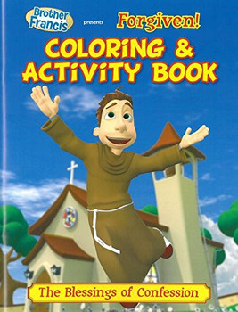 Coloring and Activity Book: Forgiven