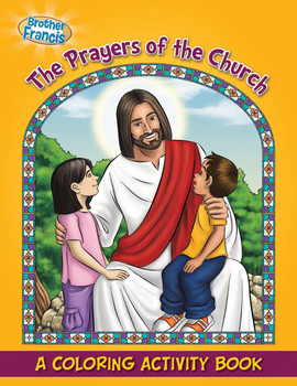 Coloring and Activity Book: The Prayers of the Church