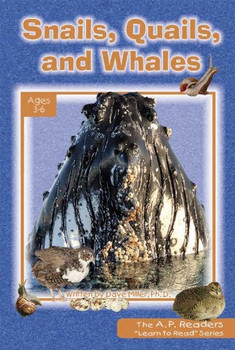 Learn to Read - Snails, Quails, and Whales