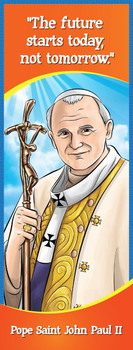 Bookmark - Come to Me -  Pope