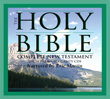 KJV New Testament Bible (CD) by Eric Martin